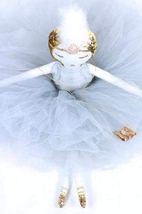 Estelle poupée bambola кукла handmade lafrançaise.paris lafrançaise lafrancaise doll luxe tutu baby paris france princesse present gift Christmas