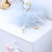 Estelle Doll кукла handmade nursery design lafrançaise.paris lafrançaise lafrancaise La Francaise La Française luxe tutu baby paris gift подарок cadeau Christmas