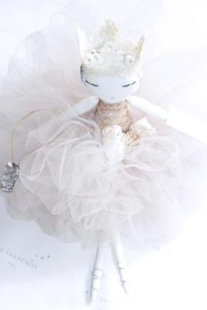 poupée, bambola, кукла, handmade, lafrançaise.paris, lafrançaise, lafrancaise, doll, luxe, tutu, baby, paris, france, princesse, beautiful, gift, present, chic, Christmas, Margo