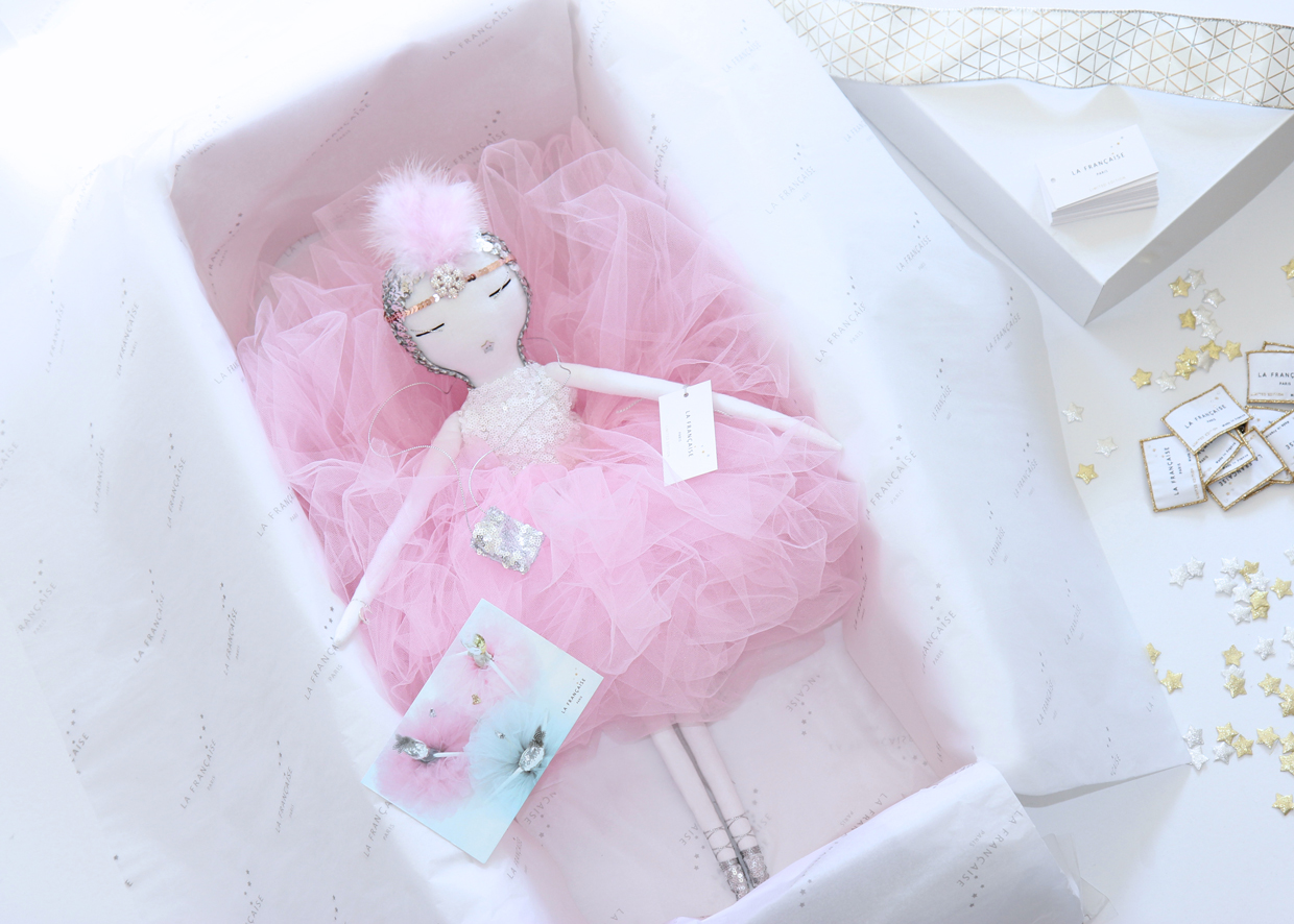 poupée, bambola, кукла, handmade, lafrançaise.paris, lafrançaise, lafrancaise, doll, luxe, tutu, baby, paris, france, princesse, beautiful, gift, present, chic, Christmas, Rose, packaging