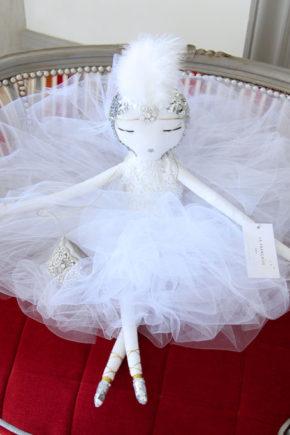 Bérénice poupée bambola кукла handmade lafrançaise.paris lafrançaise lafrancaise doll luxe tutu baby paris france princesse present gift Christmas
