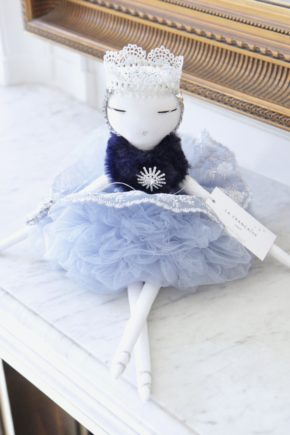 danseuse handmade doll luxe paris cadeau baby