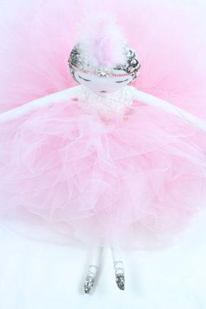 Rose poupée bambola кукла handmade lafrançaise.paris lafrançaise lafrancaise doll luxe tutu baby paris france princesse present gift Christmas